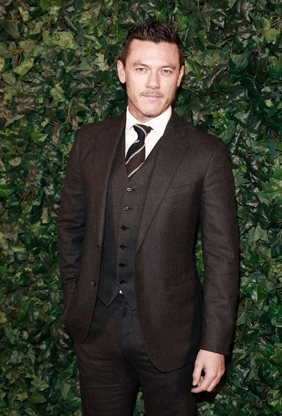 Luke Evans attends a pre BAFTA party hosted by Charles Finch and Chanel at Annabel's on February 11, 2017 in London, England.
