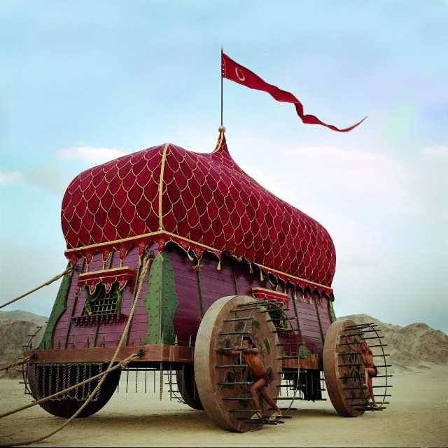 Not a gypsy wagon but very unusual! [http://www.coquetteanddove.co.uk/2011/02/movie-magic-fall.html]