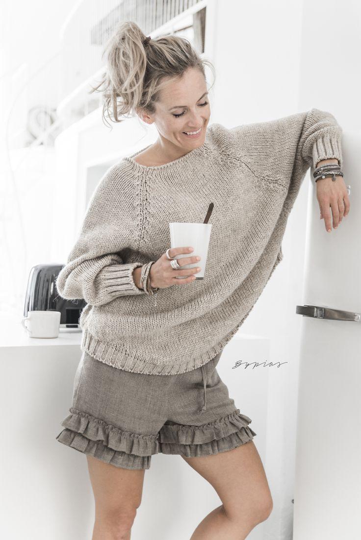 WEEKEND Knit, BEIGE - Knits - BYPIAS