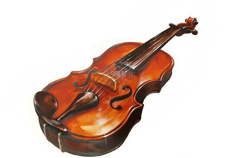 바이올린 개체묘사