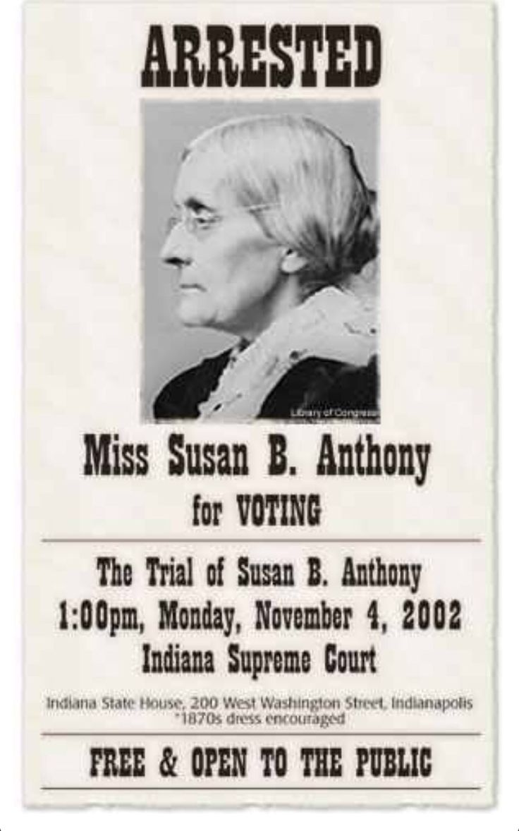 the life and times of susan brownell anthony Susan b anthony was an american feminist who played a major role in the women's suffrage movement this biography of susan b anthony provides detailed information about her childhood.