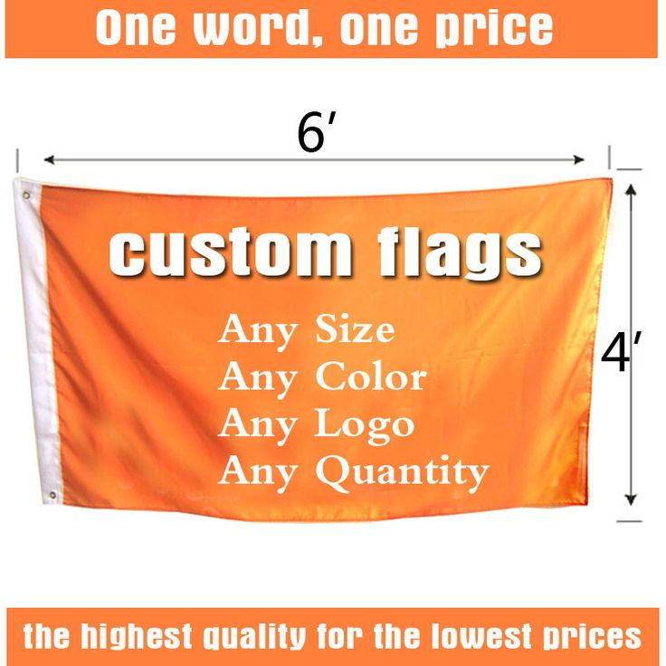 4ft*6ft FreeshippingCustom Flags and Banners Single Sided Flag Any size Any Color Any Logo  FlagsSport Flags Corporate Flags