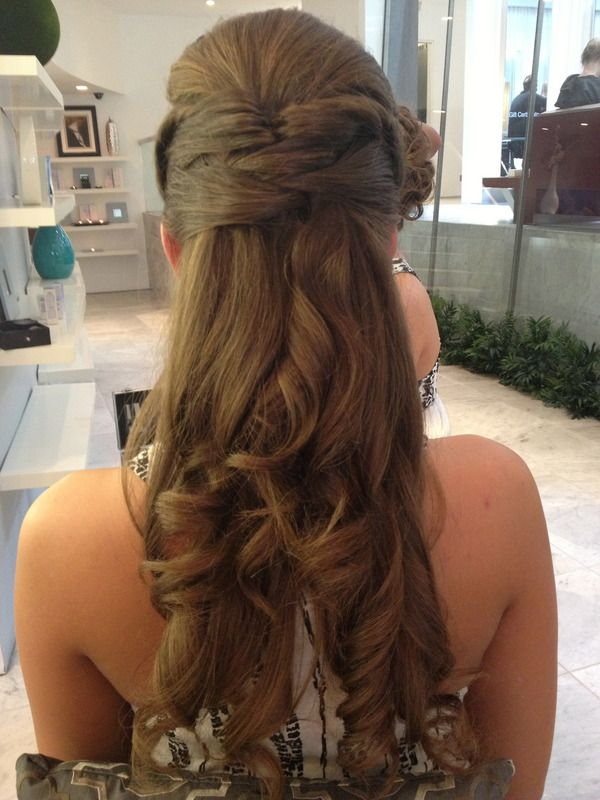 homecoming hair down styles 100 best images about half up half hairstyles on 1035 | 049749c762b173640a414bced75d7ee9