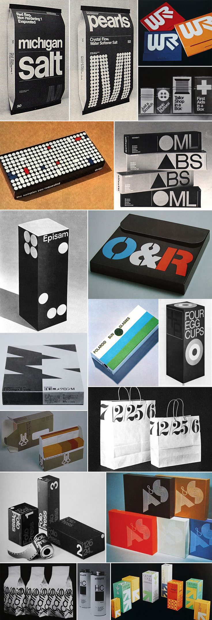 from Graphis Packaging 3 + 4 (1977|1984) and still looking cool