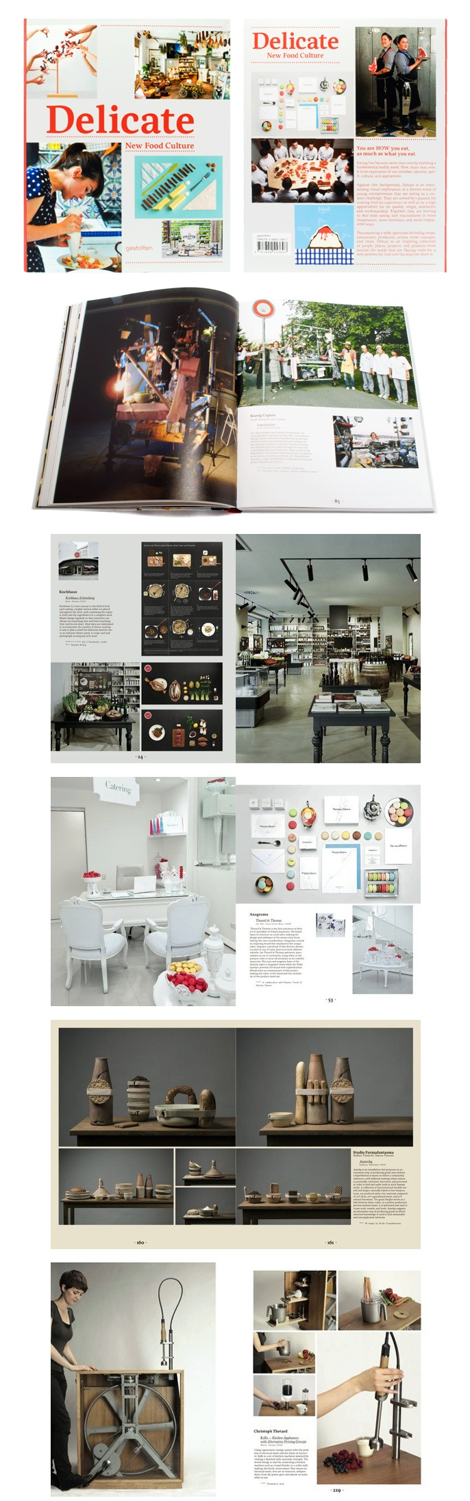 Delicate. New Food Culture - 精緻的新食文化:ARTIFACTS