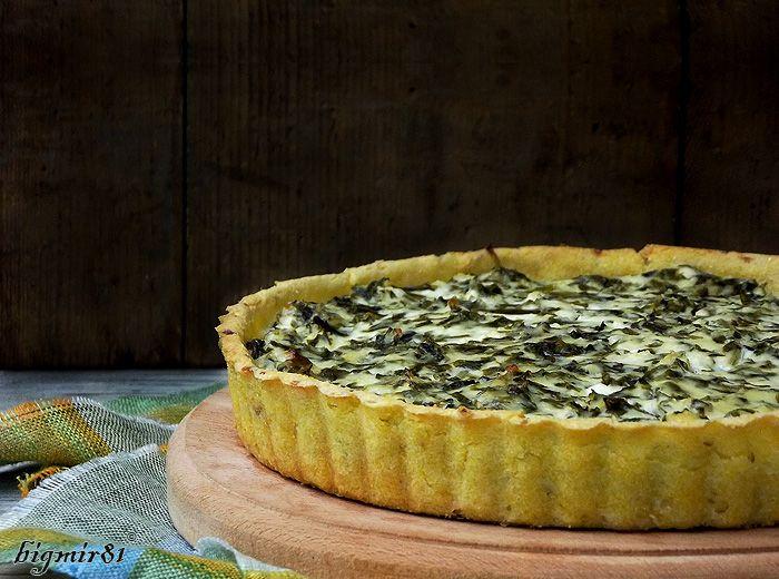 Безглютеновый пирог с творогом и зеленью - Мой журнал!!!! с картофелем