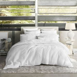 Tux White Duvet Cover Set by Private Collection