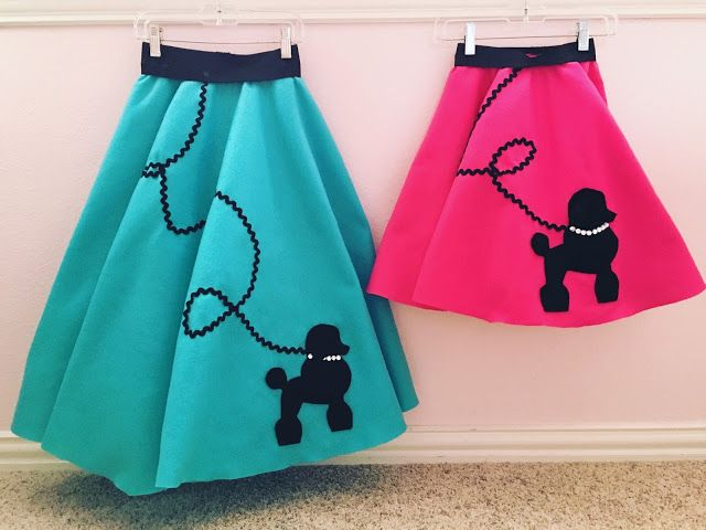 DIY Poodle Skirt