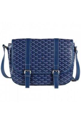 Goyard Messenger Bag MM Blue
