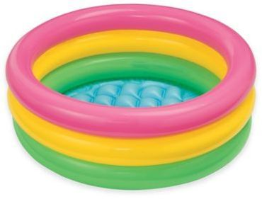 Only $5 for a baby pool! Yes please!!!Intex® Sunset Glow Baby Pool