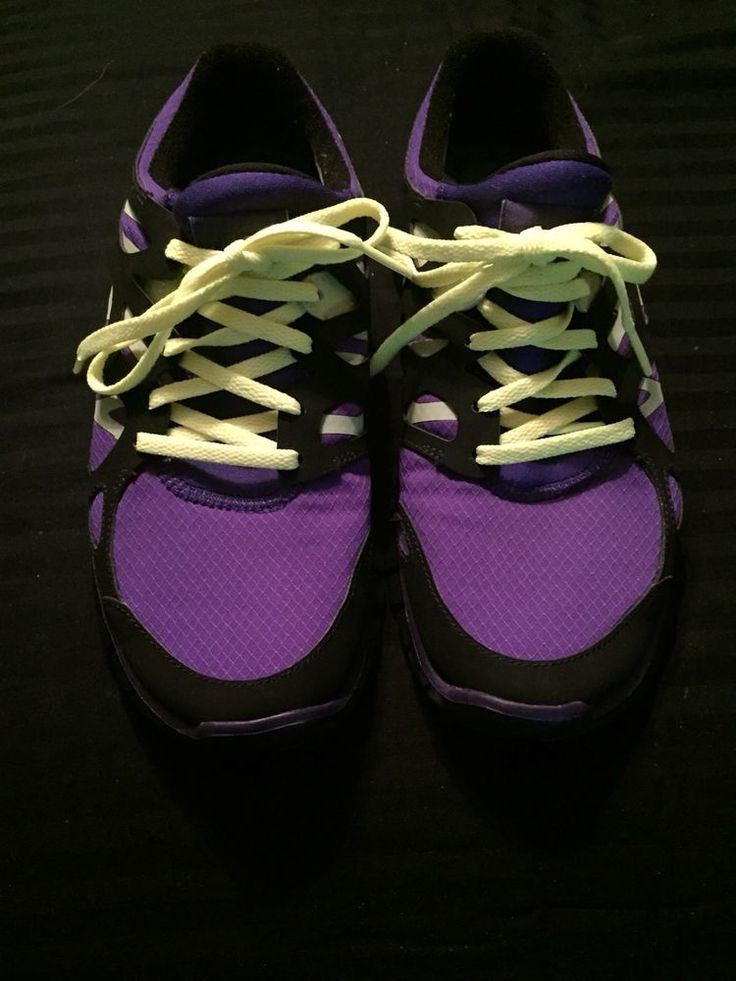 CUSTOM NIKE FREE RUN+ 2 ID WOMEN'S RUNNING SHOES PURPLE SIZE 7W