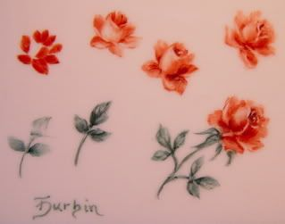 298 best painting roses tutorial images on pinterest for Easy way to paint a rose