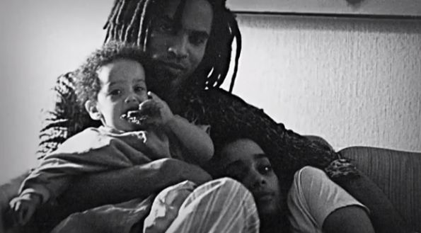 Lenny Kravitz talks about his daughter, ex-wife Lisa Bonet and his mother.