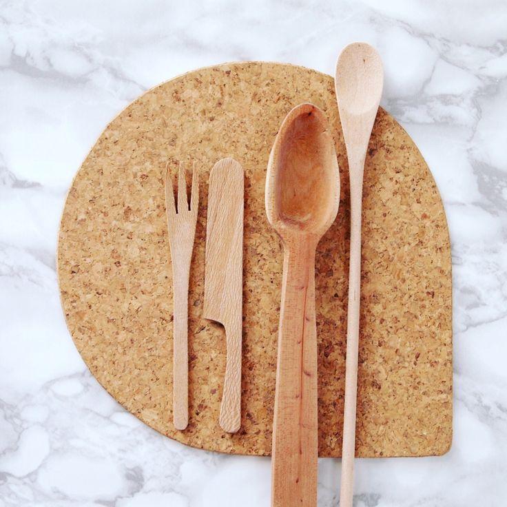 Modern Cork Trivet - Hotplate / Hot Plate / Modern Trivet by CasaCubista on Etsy https://www.etsy.com/listing/386831460/modern-cork-trivet-hotplate-hot-plate