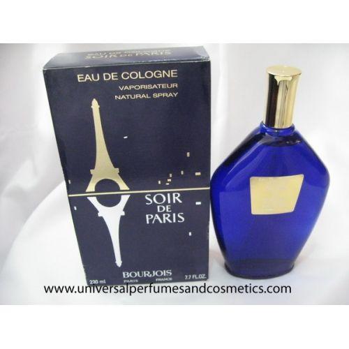 SOIR DE PARIS BY BOURJOIS 230ML 7.7OZ RARE HARD TO FIND