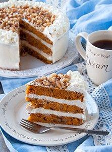 Американский морковный торт простой рецепт