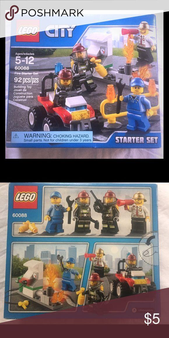 New Lego City Set New Lego City 60088 Fire Starter Set Ages 5-12. 92pcs. Lego Other