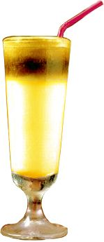Receita: Coquetel de pêssego com champanhe - Drinks e Coquetéis com Whisky