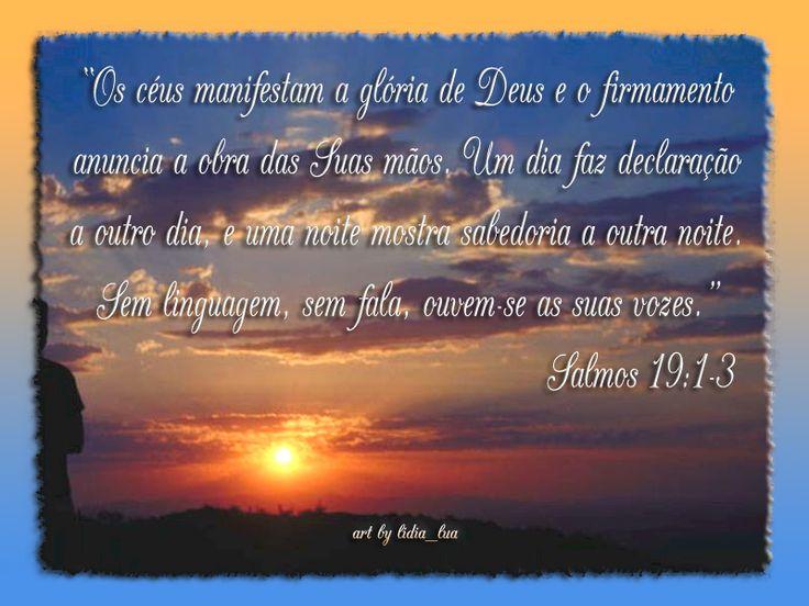 Resultado de imagem para salmo 19