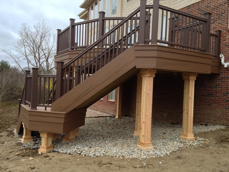 Why Why Why Great Fascia Great Post Wrap Lazy Stair