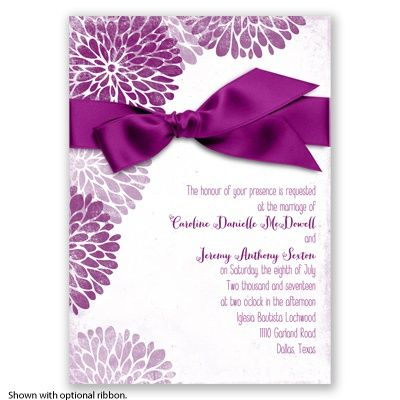 Burst of Colorful Love Sangria Invitation Everything Wedding