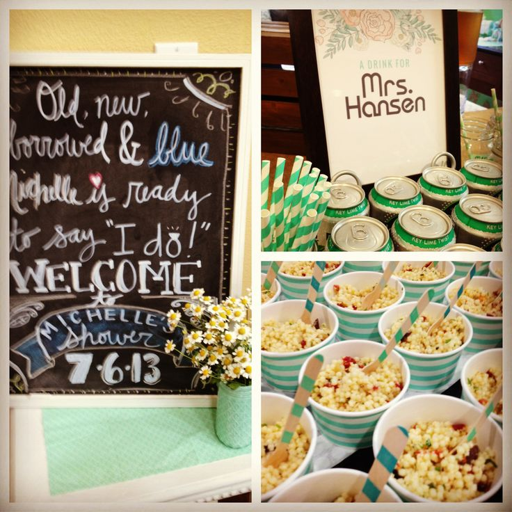 Mint to be bridal shower #minttobe