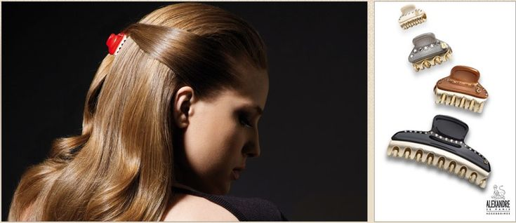 Hair clip Vendome ADParis hair accessories http://www.shambalaparadise.com/Our%20blog/