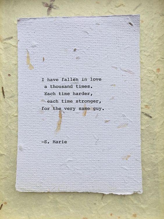 Sentimental gift idea for husband or boyfriend by Poet Seeds