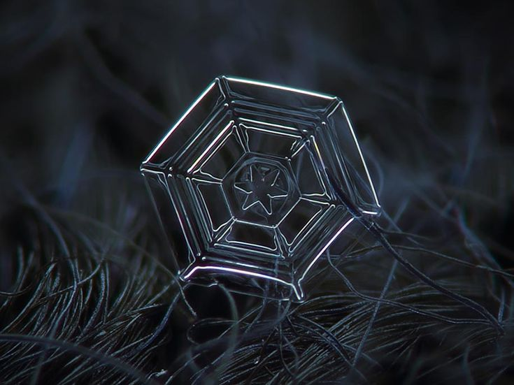 snowflake closeup alexey kljatov 08