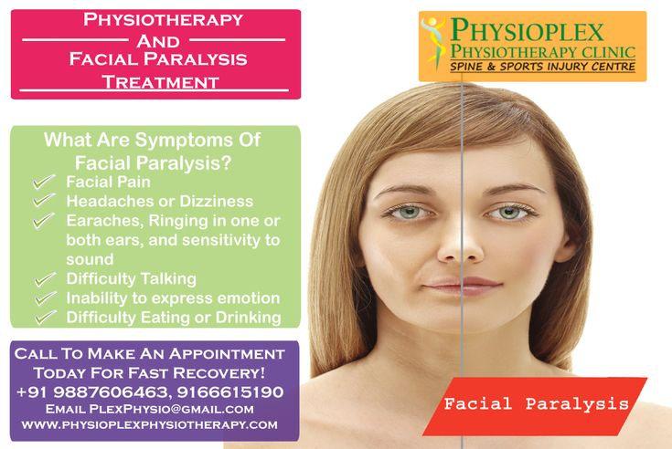 What Is a Facial Palsy?  Facial paralysis is a loss of facial movement because of nerve damage. Your facial muscles droop or become weak. To Get Best Treatment of Facial Paralysis then Call Now or Book An Appointment At: +91 9887606463, 9166615190 or Mail Us: PlexPhysio@gmail.com #FacialParalysis #FacialParalysisTreatment #FacialPain #Physiotherapy #Physiotherapist #PhysiotherapyClinic #PhysioPlexPhysiotherapy