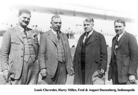 Chevrolet Motor Company was founded Detroit by Swiss-born Louis Chevrolet (1878 – 1941) and General Motors founder William C. Durant (1861 – 1947)