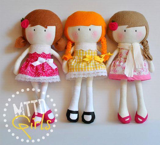 Cush and Nooks: My Teeny Tiny Dolls®