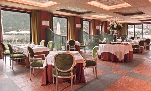 Internal view of Orangerie Restaurant