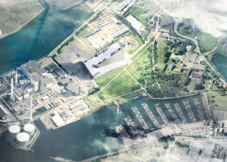 Amager Bakke Waste-to-Energy Plant by BIG