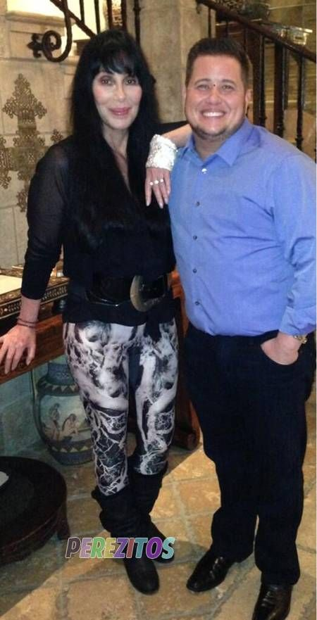 Cher and Chaz Bono by http://www.wikilove.com