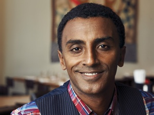 Marcus Samuelsson on being Ethiopian, Swedish, and the youngest chef ever to receive two three-star ratings from The New York Times.