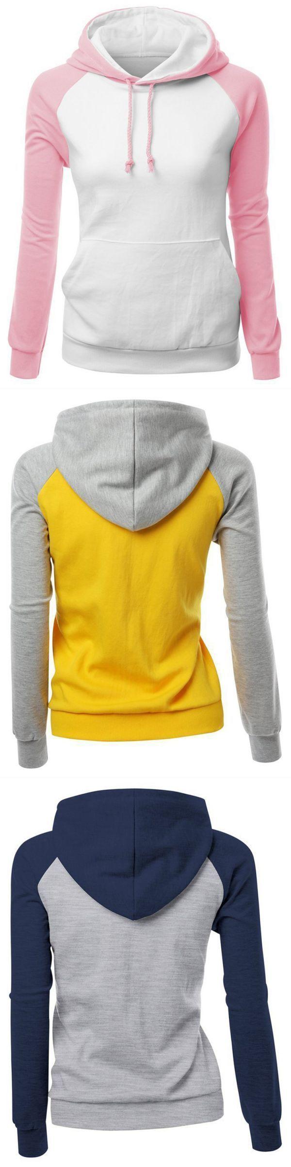 Sweatshirts with words casual patchwork long sleeve hooded loose women sweatshirt #ohio #u #sweatshirts #sweatshirts #greece #sweatshirts #meaning #sweatshirts #vs #sweater