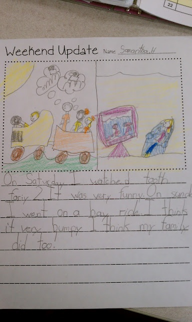 Second Grade Smartypants: Weekend Update Freebie