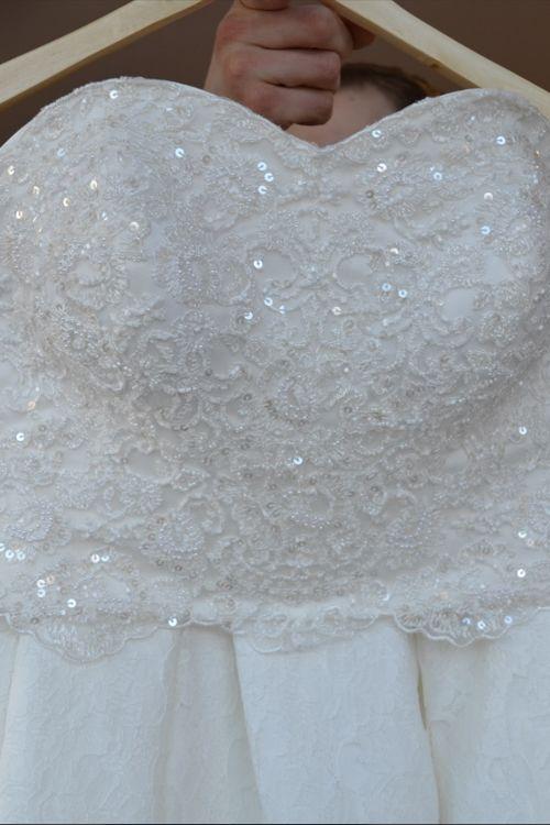 Dvojdielne svadobné šaty na predaj