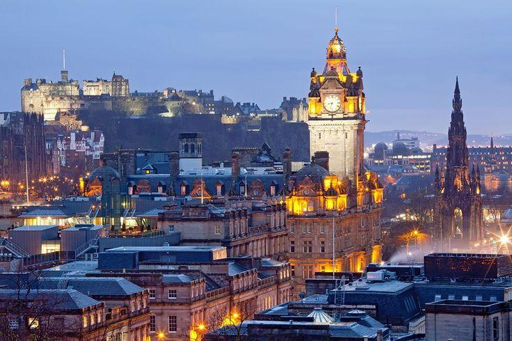 Эдинбург, Шотландия - ПоЗиТиФфЧиК - сайт позитивного настроения!