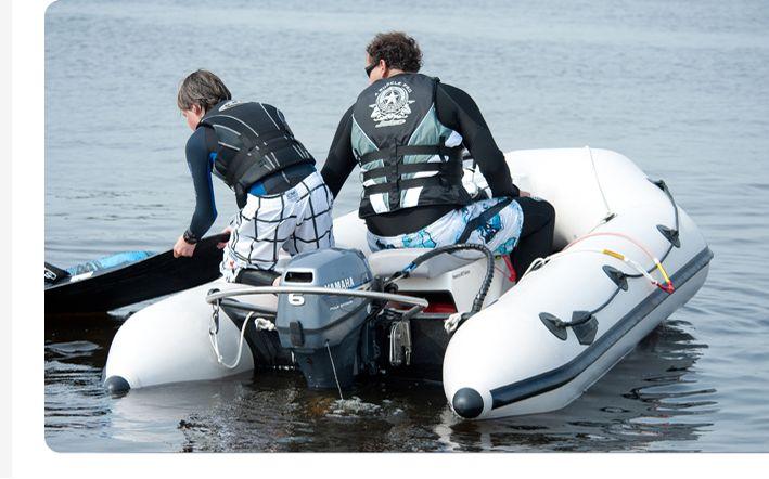 TurboSwing tow bar - water skiing, wakeboarding, fun tubing