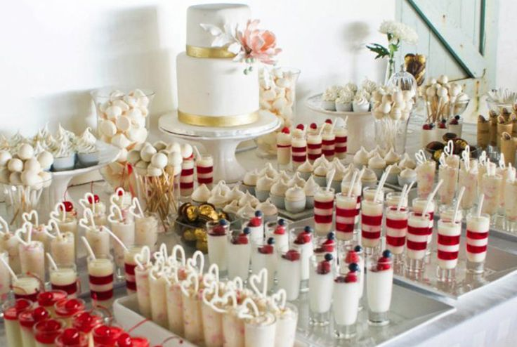 Wedding Cake Alternative, something for everyone to enjoy.