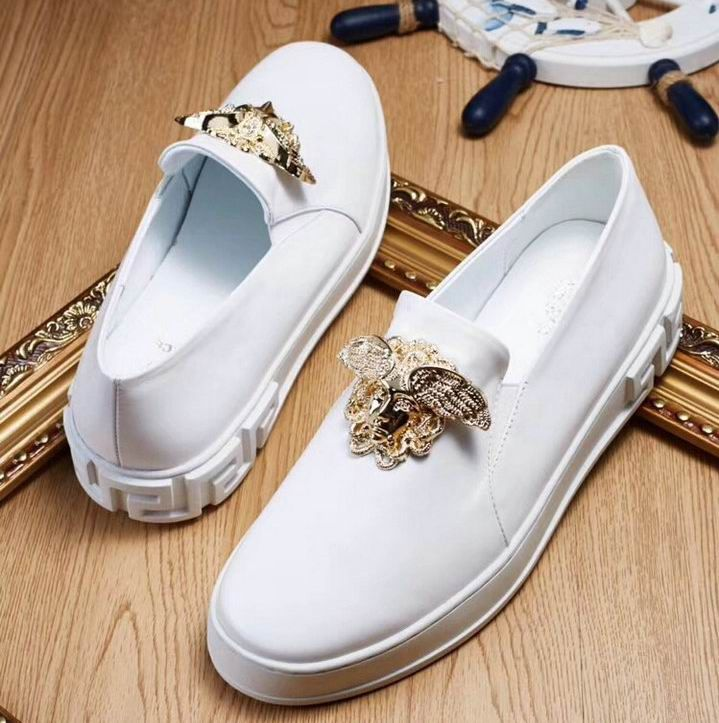 ccd5af15 Versace Palazzo Slip-on Sneakers | Versace Mens Shoes in 2019 ...