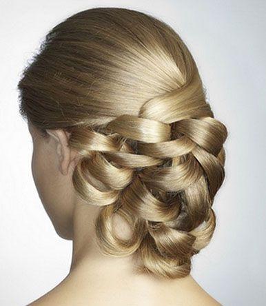 Peinados Para Fiestas Sencillos | ... Peinados de novia con tiara Peinados de fiesta novia sencillos