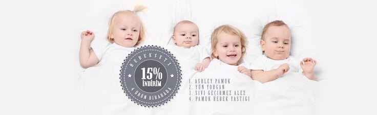#indirim Wellmatt Yatak ta bebek setinde %15 indirim var..