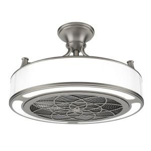 Stile Anderson 22 in. Indoor/Outdoor Brushed Nickel Ceiling Fan CF0110 at The Home Depot - Mobile