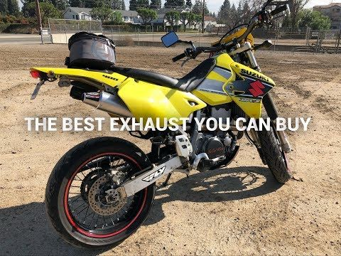 DRZ 400 EXHAUST: MRD PRO COMP EXHAUST - YouTube
