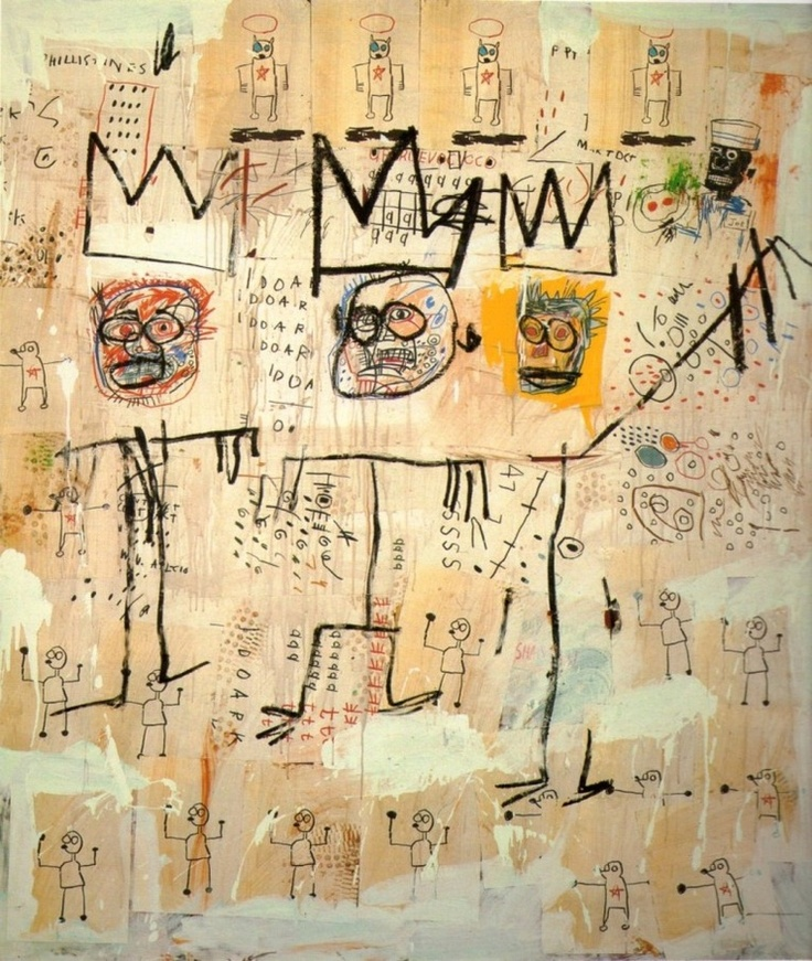 jean michel basquiat thesis statements Jean michel basquiat's move from unknown street artist to  the nine essays  included in the collection were originally published in art in.