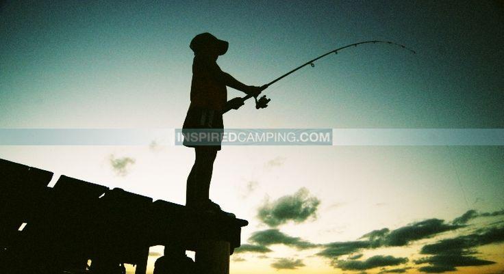 Fishing camping glamping