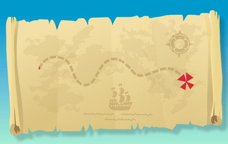 jake and the neverland pirates blank map